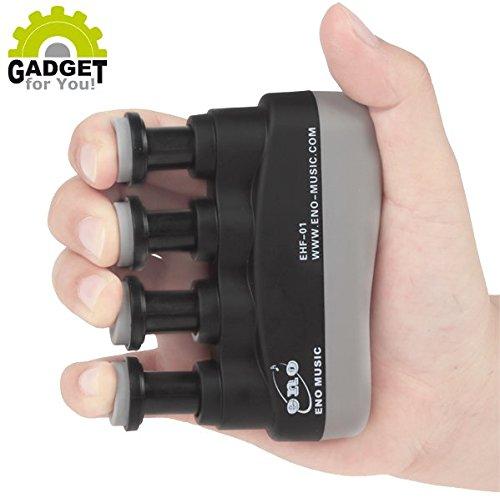 Fingertrainer mit VERSTELLBAREM Widerstand (Finger- und Unterarm Trainingsgerät für Sport, Fitness, Klettern, Physiotherapie & Musik)