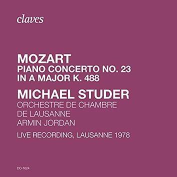 Mozart: Piano Concerto No. 23 in A Major K. 488 (Live Recording, Lausanne 1978)