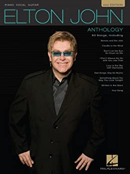 Elton John Anthology  Songbook: For Piano, Voice and Guitar by [Elton John]