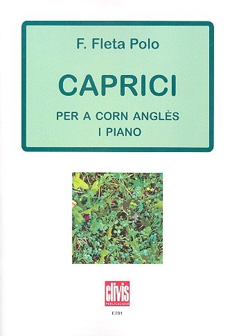 Caprici : for englishhorn and piano