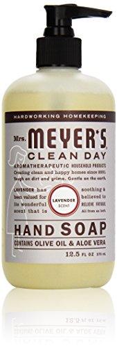 Mrs. Meyer's Clean Day Liquid Hand Soap, Lavender, 370 ml Bottle