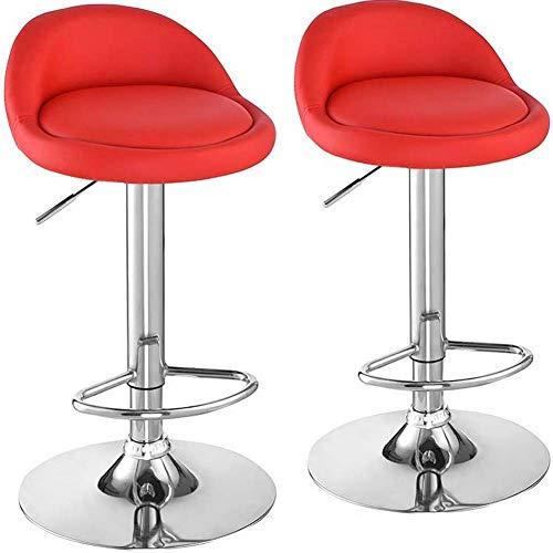 2 * Altos barkruk zithoogte 60-80 cm afneembaar gewatteerde PU-leer open haard fornuis restaurants bar cafeteria discotheek
