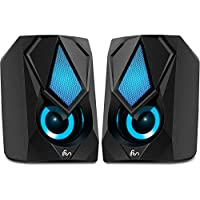 LFS USB-Powered Wired Computer Speaker with Stereo Dynamic Sound