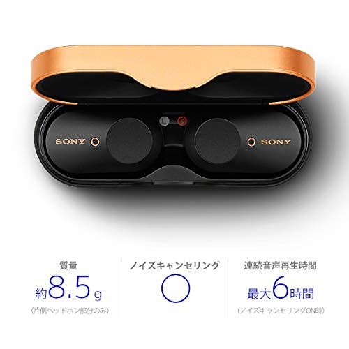 SONY(ソニー)『ワイヤレスノイズキャンセリングステレオヘッドセット(WF-1000XM3)』