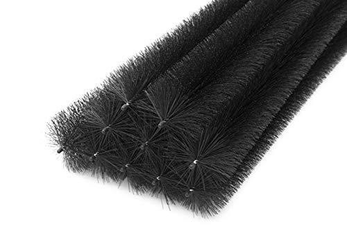 30m Dachrinnenbürste die Länge120 cm; Ø 15 cm Laubschutz Marderschutz 25 Stück