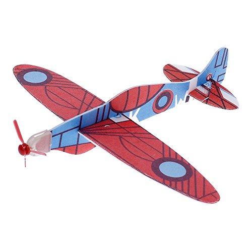 Avión Planeador 3D Modelismo, Modelo MITSUBISHI A6M ZERO, Colección Clásicos del Aire