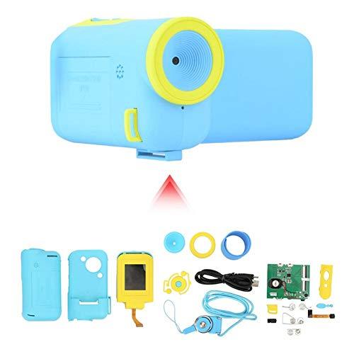 KUIDAMOS Linda cámara portátil para niños Ligera, para desarrollar el Cerebro de los niños(Blue)