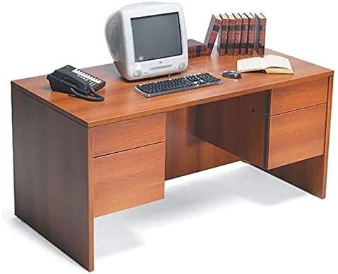 Global Adaptabilities Double Pedestal Wood in Credence Desk Factory outlet Credenza Avan