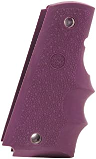 Hogue 45006 Colt & 1911 Government Grips, W/Finger Grooves, Purple