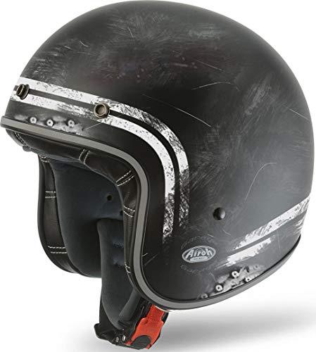 Airoh Garage Raw Jet Helm XXL (63/64)
