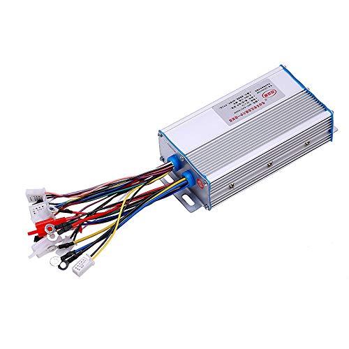 MXBIN 48V-64V 500W Controlador de Motor sin escobillas Modo Dual de autoaprendizaje...