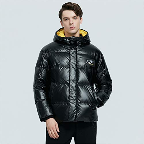 TBAO Neue Winter Herren Daunenjacke Hochwertige Modische Baumwollmantel Herrenbekleidung (Color : M902, Size : 50)