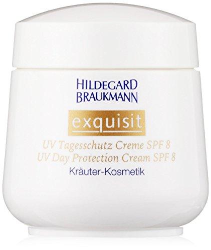 Hildegard Braukmann Exquisit femme/women, UV Tagesschutz Creme LSF 8, 1er Pack (1 x 50 ml)