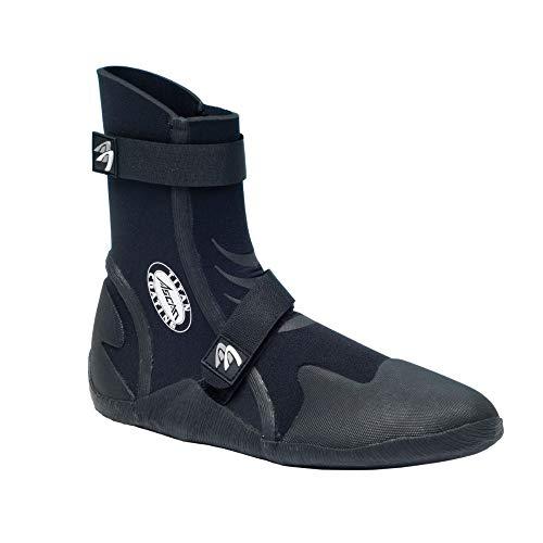 ASCAN Zapatos de neopreno Calzado surf Superflex 5mm - Neopreno Negro, 35/36 EU