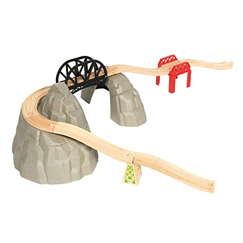 Bigjigs Rail Lot d'Extensions Montagnes rocheuses