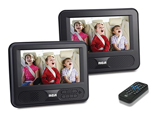 RCA DRC69707 Dual 7-Inch Screen Mobile DVD System