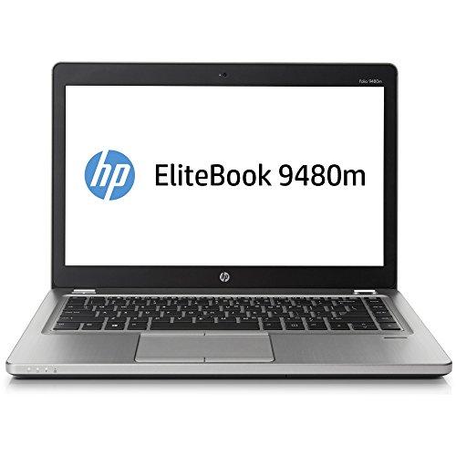 """Notebook Pc Portatile HP Folio 9480M - Intel iCore i5 - Ram 8Gb - SSD 128GB - Led 14"""" - WebCam - Win 10 - RENEW - Usato Ricondizionato"""