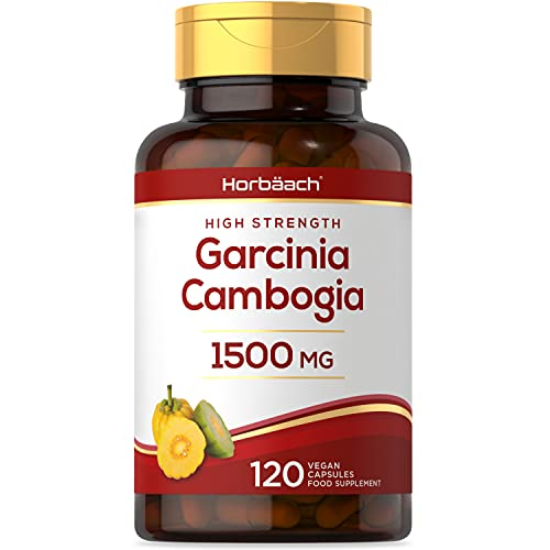 Garcinia Cambogia 1500mg | 120 Vegan Capsules | Whole Fruit Powder | No...
