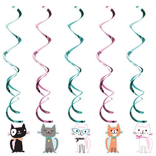 Creative Converting Diszzy DANGLERS Assortiti, 76,2 cm, Multicolore