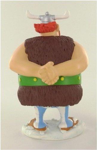 Asterix figura resina Obelix vikingo 14 cm 4