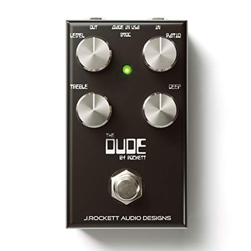 J. Rockett Audio Designs Tour Series The Dude V2 Overdrive Guitar Effects Pedal