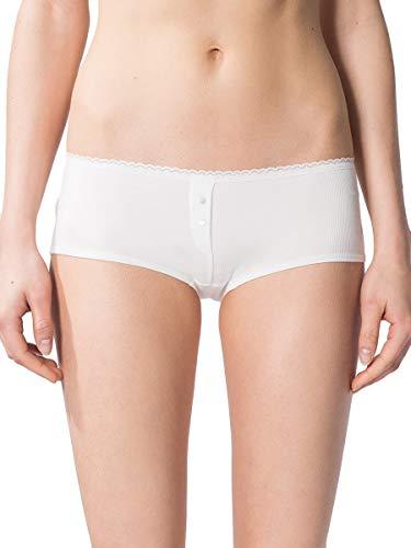 Marc O'Polo Damen Panty mit Spitze - Baumwolle Mix