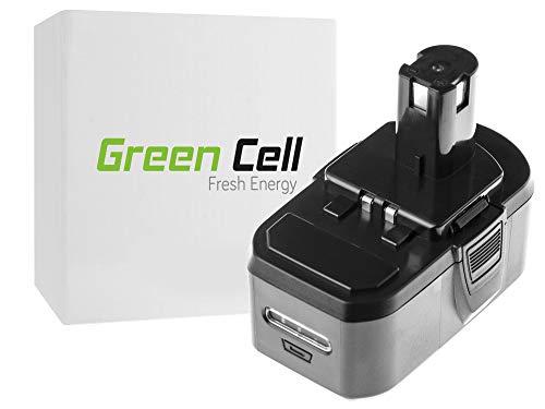 Gereedschap Batterij RB18L50 voor Ryobi ONE+ P1100 P200 P300 P400 P500 P600 P700 18V 5000mAh