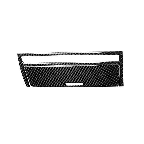 KKmoon Auto Carbon Zigarettenanzünder Rahmen Aufkleber Innen Instrument Getriebe Armaturenbrett Deko Abdeckung Aschenbecher Lagerung Panel Frame Sticker für BMW 3er E46 98-05