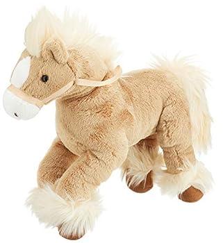 GUND Fanning Palomino Horse Laying Down Stuffed Animal Plush Tan 12