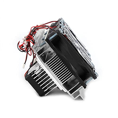 Huang qiaoyun Electrón semiconductor refrigerador refrigerador Triple Ventilador módulo termoeléctrico Kit DIY Peltier Unidad de enfriamiento termoeléctrico Dispositivo