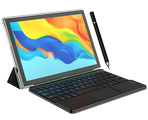 Tablet 10.1  Android 10 Dual SIM 4G LTE, 128 GB Espandibili, RAM 6GB offerte Processore Octa-Core WiFi 2 Speaker Bluetooth OTG