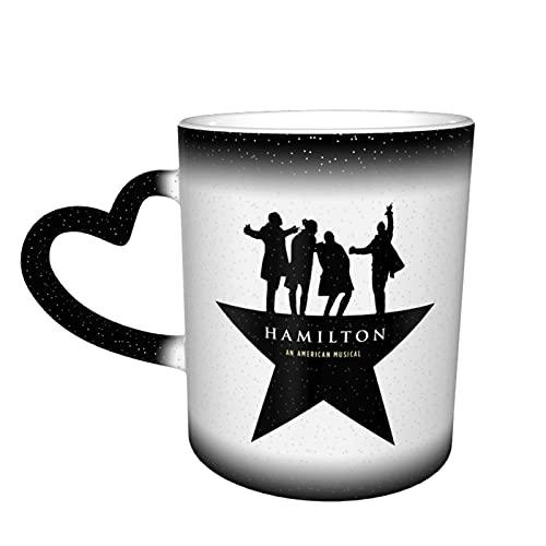 Musical Hamilton Coffee Mug - Ceramic Coffee Cups Novelty Gag Gifts Mug for Gift Great Mug Funny Travel Tea Gift Birthday