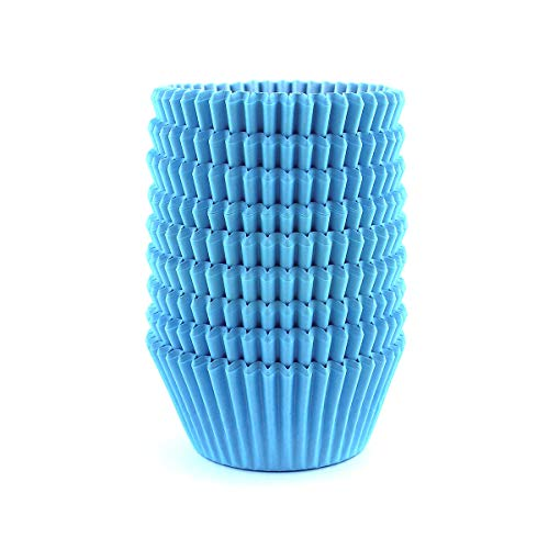 Warmparty Baking Cups Cupcake Liners, Standard Sized, 300 Count (Blue)