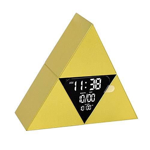 Paladone The Legend of Zelda Triforce - Reloj despertador digital