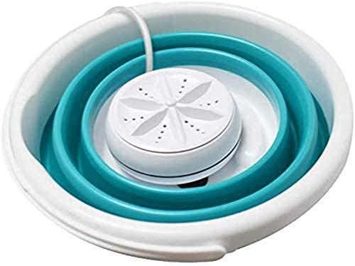 Surfilter Mini Faltwaschmaschine, kleine tragbare Faltwaschmaschine, Waschmaschine, Ultraschall-Turbowaschanlage, Wandmontage (Farbe: Three in One 10l)