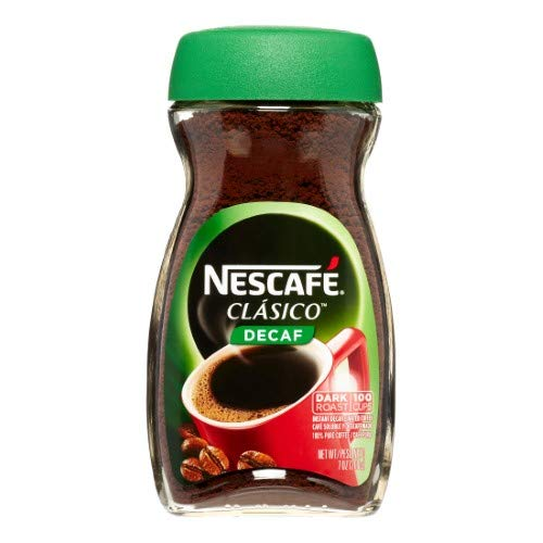 NESCAFE CLASICO Decaf Instant Coffee (Pack of 2)