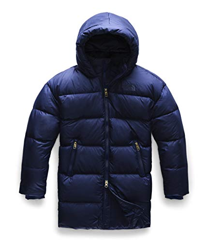 THE NORTH FACE Girls Gotham Down Parka Blau, Kinder Daunenjacke, Größe M - Farbe Montague Blue