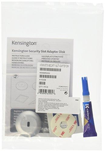 Kensington Sicherheitssteckplatz-Adapter für Ultrabooks und Tablets, K-Slot-Adapter für Macbook Air, Ultrabooks und weitere Tablet Geräte, K64995WW