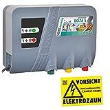 VOSS.farming Électrificateur 230V « Delta 5 » - Protection Parfaite pour les Pâturages - Clôture électrique