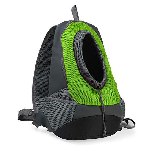 Angle-w diseño Elegante, Viajes Sencillos, Paño de Oxford Malla Transpirable Mochila Mochila Portátil Portátil Portátil Portador de Mochila Vamos mas lejos (Color : Green, Size : L)