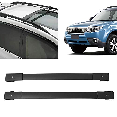 Yeeoy Cross Bars Roof Top Carrier Rack Roof Rail Luggage Rack Replacement for 2014-2018 Subaru Forester