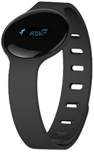 HANNSPREE SW68SD12 - Reloj Deportivo (OLED, 257 x 38 x 10 mm, Negro, Azul)