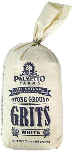 Palmetto Farms, Grits Stone Ground White, 32 Ounce