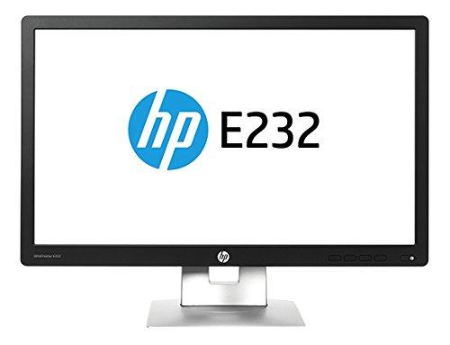 HP EliteDisplay E232 23-Inch Monitor (M1N98A8#ABA) IPS w/LED backlight, 1920x1080 @60Hz, 96PPI,Black