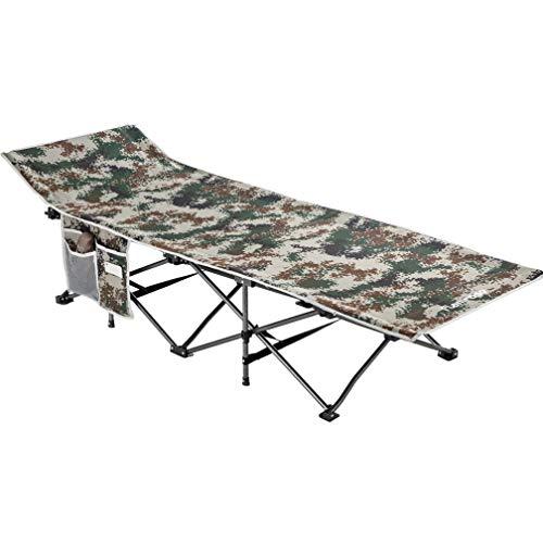 FLAMROSE折り畳み キャンプ レジャー ベンチ チェアーサマーベッド アウトドアベッド 折りたたみ ベッド コット耐荷重120kgグレー ベッド アウトドア 防災 収納 折りたたみ式ベッド