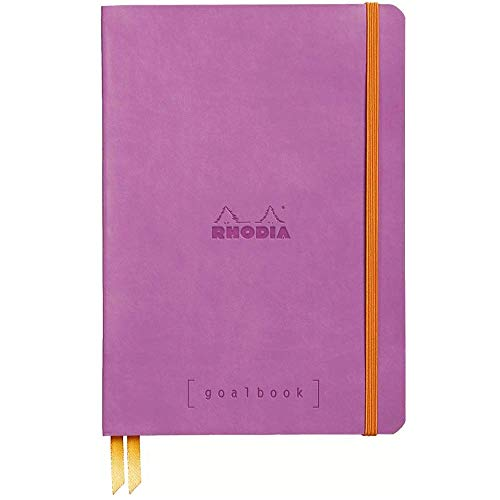 Rhodia Goalbook Journal, A5, Dotted - Lilac
