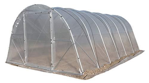 Gewächshaus, Tunnel, für Obstgarten oder Garten. Profi Qualität. Modell i6 24 m² (4 m x 6 m). WIR SIND HERSTELLER.