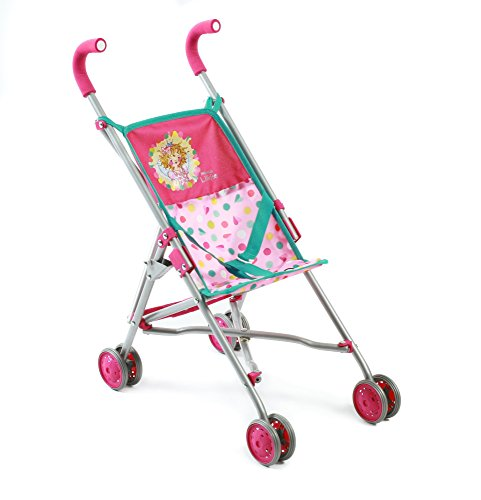 Bayer Chic 2000 602 79 - Babypuppen und Zubehör - Mini-Buggy Roma, Prinzessin Lillifee