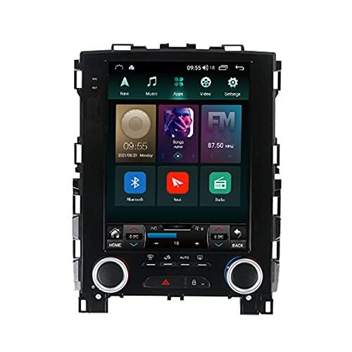 Para Renault Koleos 2017-2019,Radio De Pantalla Táctil De 9.7'' Estéreo De Coche Doble Din Con Cámara De Respaldo,BT,Enlace Espejo,4G LTE+WIFI,USB/SWC/GPS/DSP/FM/AM,Carplay Android Auto,2.0,TS5
