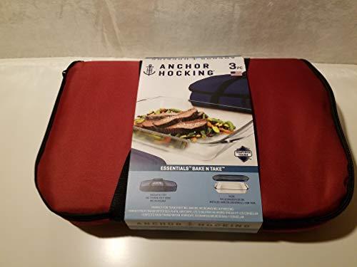 Anchor Hocking Bake & Take 3Qt Red 12135L16